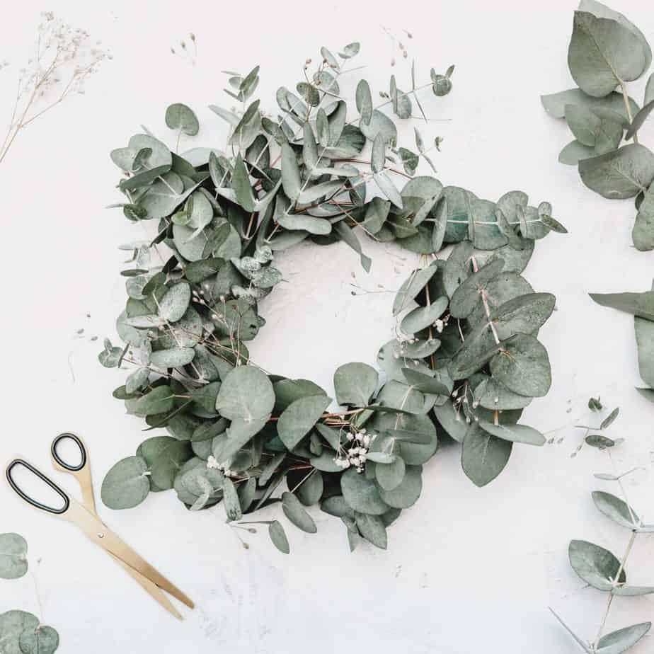 couronne eucalyptus dit deco