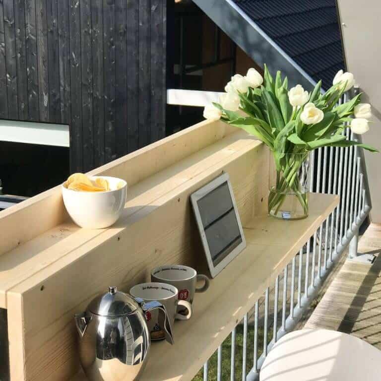 diy bar pour balcon