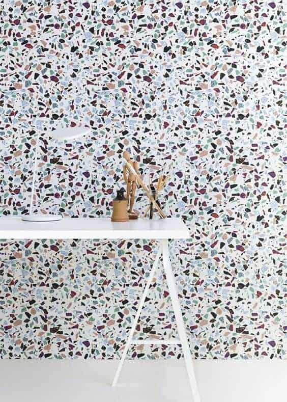 terrazzo bureaux  - La tendance terrazzo s'invite dans toute la maison