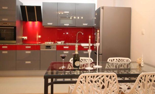 Une cuisine moderne avec la plancha