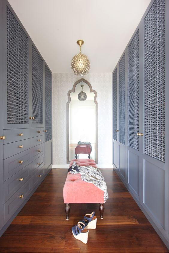 "grand dressing avec deco orientale  - Dressing : transformer une pièce en ""Walk-in closet"""