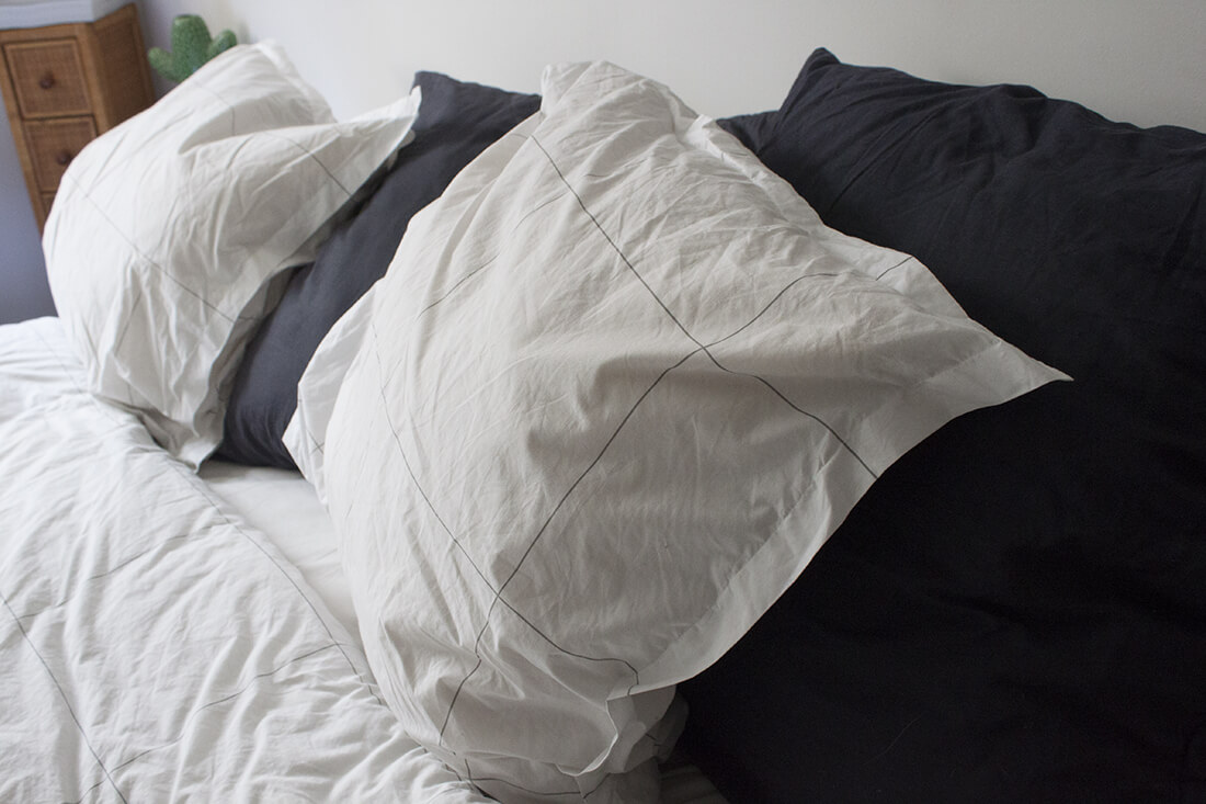 taie doreiller greige - Le linge de lit français et éco-responsable Greige