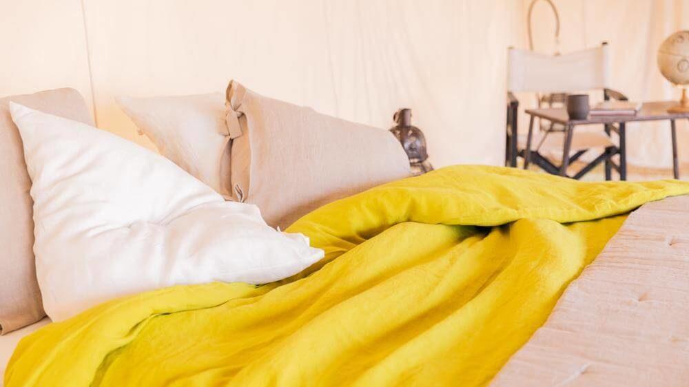 cropped le linge de lit de la marque de decoration verdade  - La marque de décoration Verdade, entre voyage et poésie