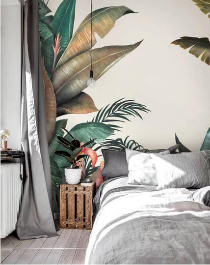 papier pein panoramique tropical chambre - 10 styles de papier peint panoramique à couper le souffle