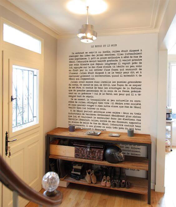 papier peint panoramique poétique lettre  - 10 styles de papier peint panoramique à couper le souffle