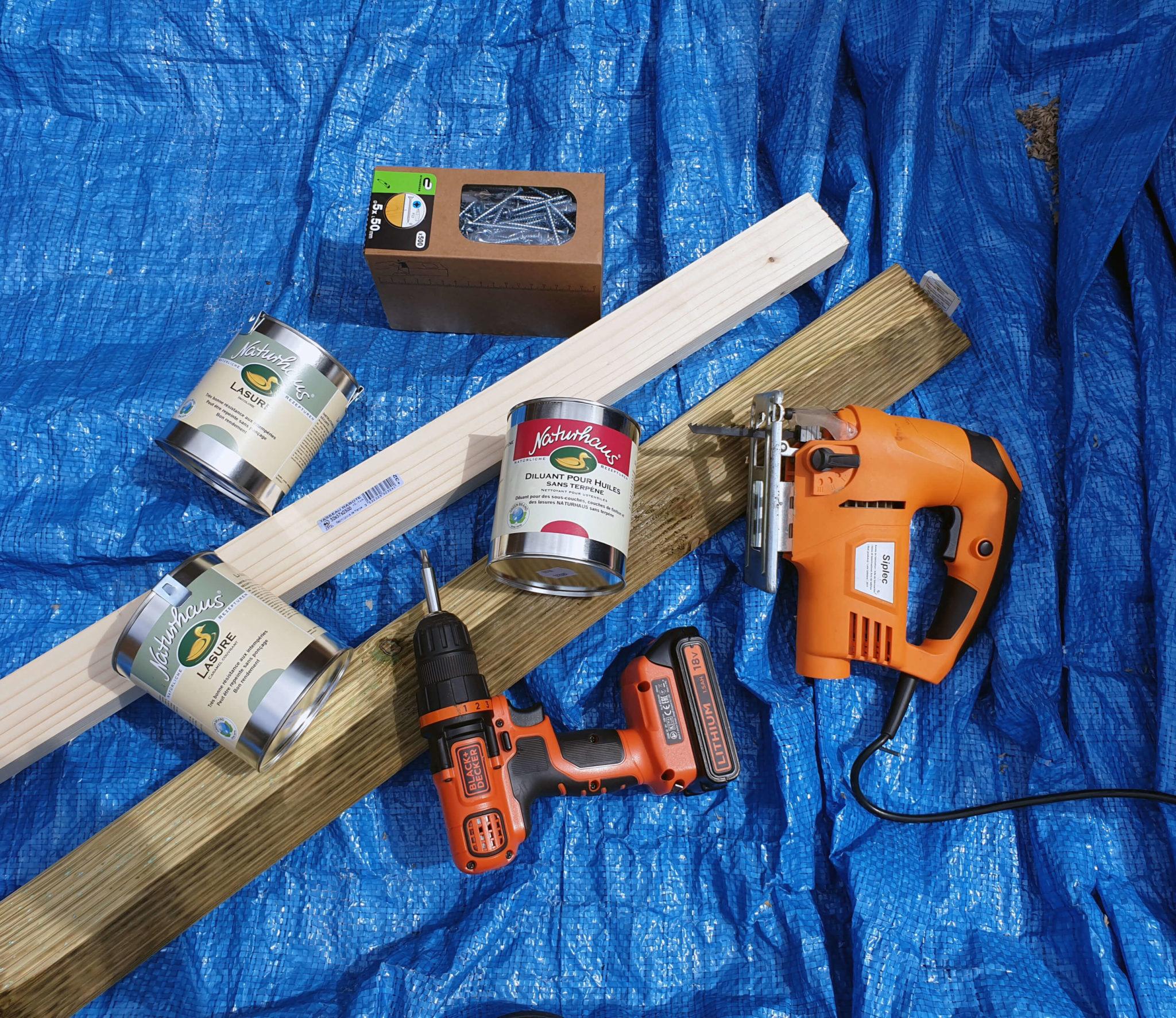 materiel pour construire une terrasse en bois 2048x1774 - Construire une terrasse en bois