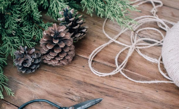 Fabriquer le sapin de Noël