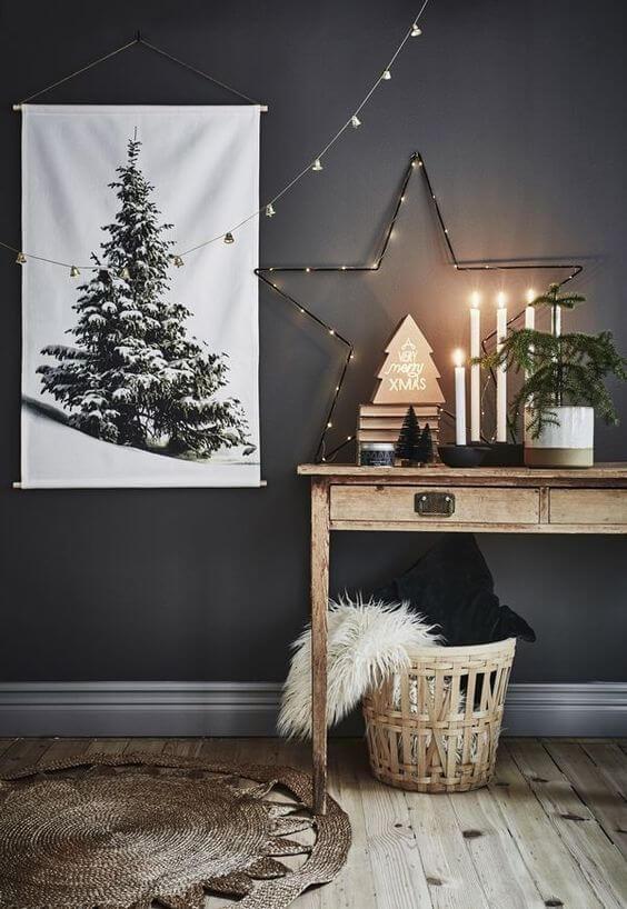 Léclairage pour composer la déco de Noel  - Comment composer sa déco de Noël avec les tendances 2019  ?