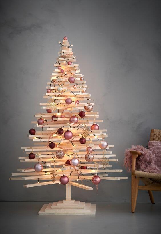 idées pour fabriquer un sapin en palette  - 10 idées pour fabriquer le sapin de Noël