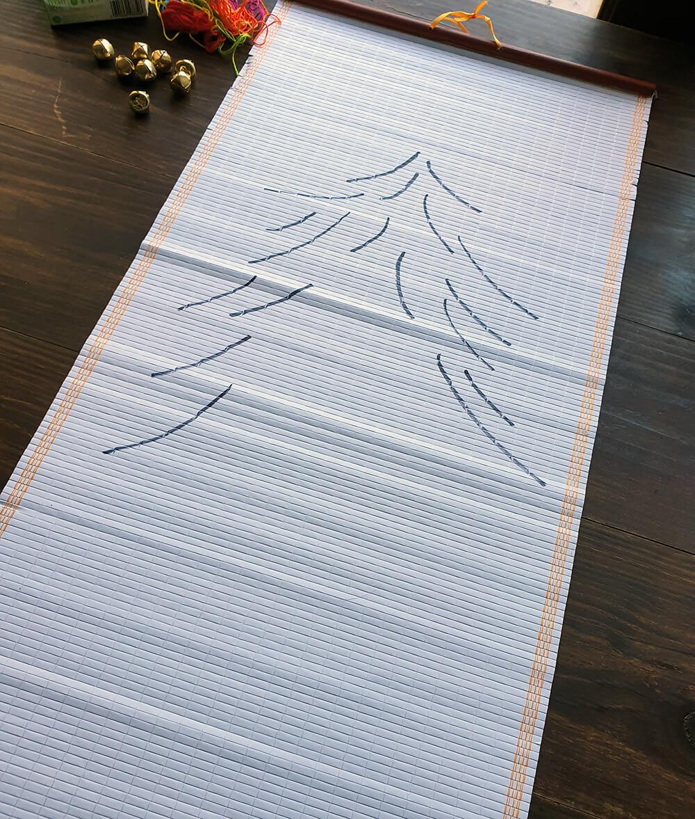 diy sapin zéro déchet - DIY Noël : comment fabriquer un sapin zéro déchet ?
