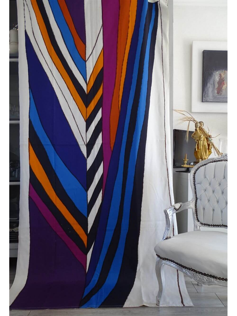 1972 knoll international toile de coton epaisse tenture gretl et leo wolner designer - 9 objets rétro à intégrer dans une décoration vintage